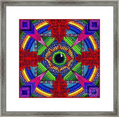 Pry It Open Framed Print