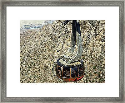 Ps Aerial Tram 18 Framed Print