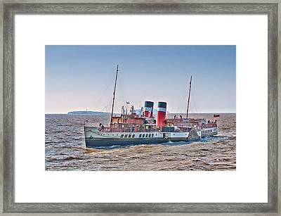 Ps Waverley Approaching Penarth Framed Print