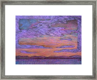 Psalm 104 31 Framed Print by J Michael Orr
