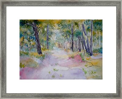 Psalm 16 Framed Print by Diana Prout