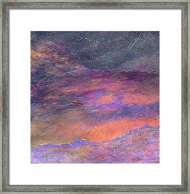 Psalm 19 1 Framed Print by J Michael Orr