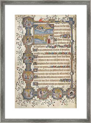 Psalm 68; Jonah Framed Print