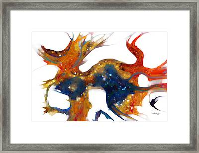 Psalm 8 1-3 God Of Wonders Framed Print by Mark Lawrence