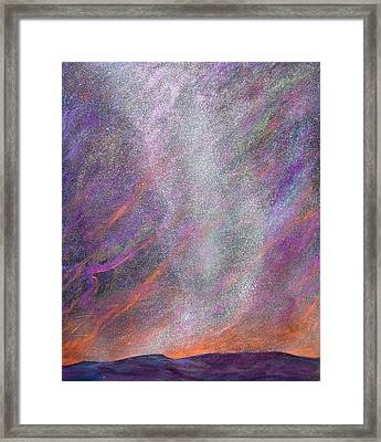 Psalm 8 1 Framed Print by J Michael Orr