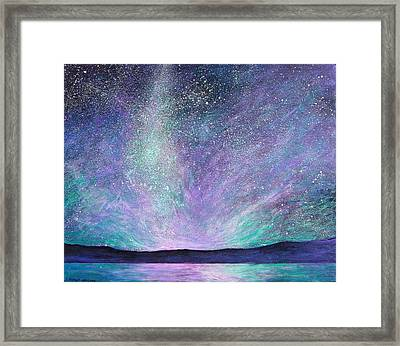 Psalm 8 3 No. 1 Framed Print by J Michael Orr