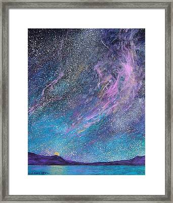 Psalm 8 3 No. 2 Framed Print by J Michael Orr