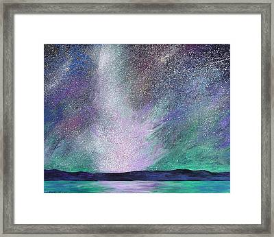 Psalm 8 3 No. 3 Framed Print by J Michael Orr