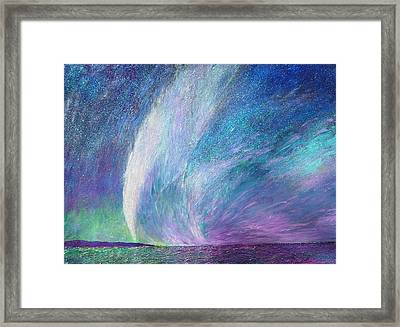 Psalm 96 11 No. 2 Framed Print by J Michael Orr