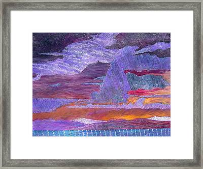 Psalm 97 6 Framed Print by J Michael Orr