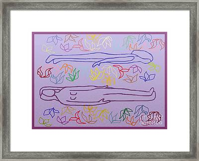 Psyche Soma Framed Print by Meenal C