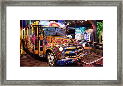 Psychedelic Framed Print by Jewels Blake Hamrick