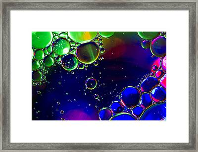 Psychedelic  Framed Print by Kelly Howe
