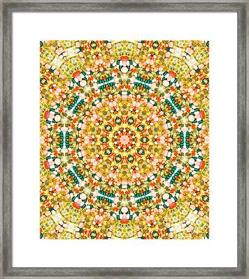 Psychedelic Pattern Framed Print by Jose Elias - Sofia Pereira