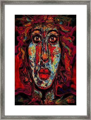 Psychic Framed Print by Natalie Holland