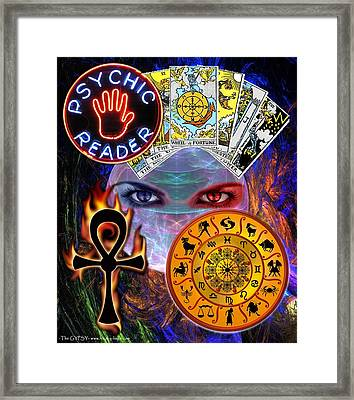 Psychic Reader Framed Print