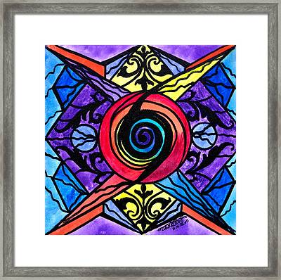 Psychic Framed Print by Teal Eye  Print Store