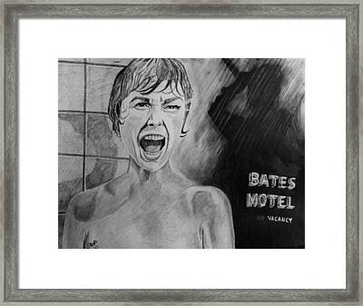 Psycho Framed Print by Jeremy Moore