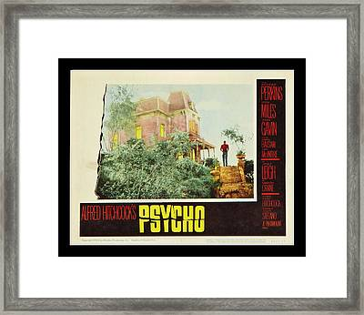 Psycho Framed Print by Georgia Fowler
