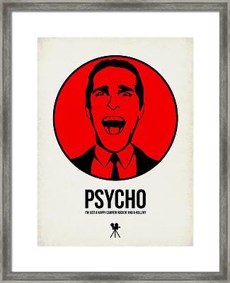 Psycho Poster 2 Framed Print by Naxart Studio