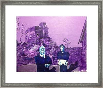 Psycho Set Framed Print