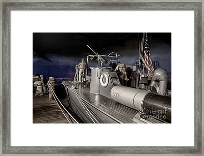 P T 309 Framed Print