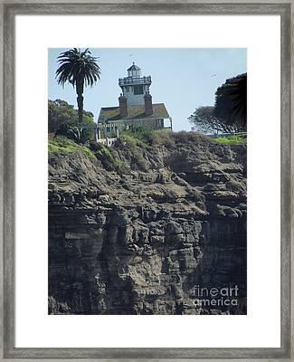 Pt. Fermin Lighthouse Framed Print