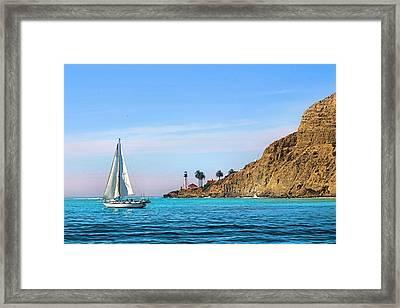 Pt Loma - San Diego Bay Framed Print