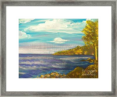 Ptg   Highview Point  Ny Framed Print
