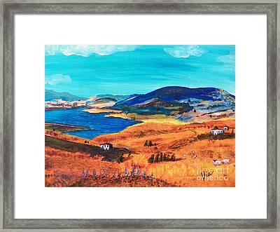 Ptg   Italian Countryside Framed Print