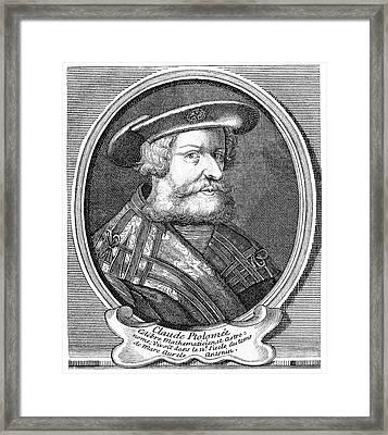 Ptolemy Framed Print by Cci Archives