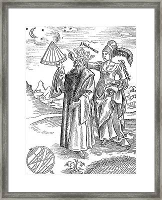 Ptolemy Framed Print by Collection Abecasis