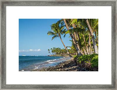 Puamana Maui Framed Print by Pierre Leclerc Photography