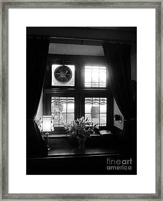 Pub View Framed Print
