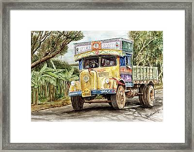Public Carrier Framed Print by Sethu Madhavan