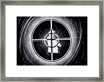Public Enemy Hurricane Inverted Framed Print