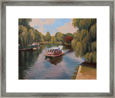 Public Garden Pleasure Framed Print