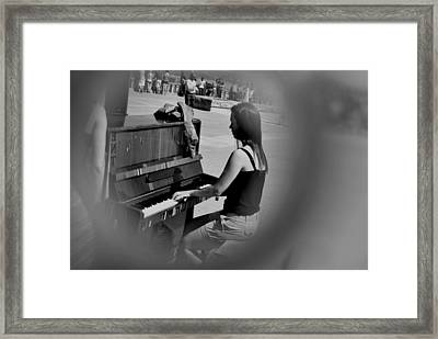 Public Music 2 Framed Print by Frederico Borges