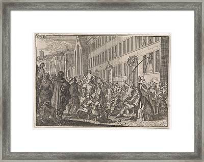 Public Proclamation Of The Treaties Concluded At Nuremberg Framed Print