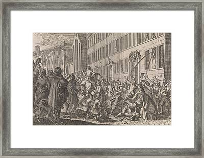 Public Proclamation Of The Treaties Concluded In Nuremberg Framed Print