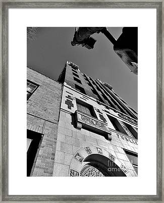 Public Service Building Framed Print