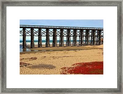 Pudding Creek Bridge Framed Print