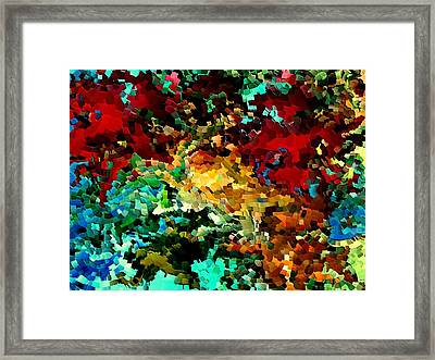 Puddle By Rafi Talby Framed Print by Rafi Talby