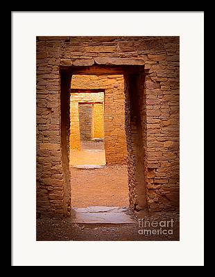 Chaco Canyon Framed Prints