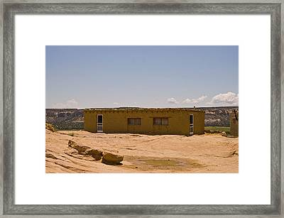 Pueblo Home Framed Print