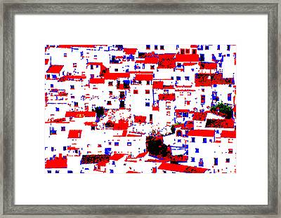 Pueblo Framed Print by Robin Graham