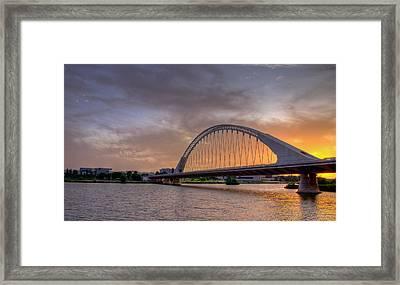 Puente De Lusitania II Framed Print by Pablo Lopez
