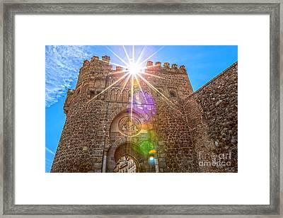 Puerta Del Cambron Framed Print