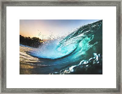 Puerto Aura Framed Print by Evan Conway