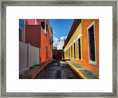 Puerto Rico - Old San Juan 008 Framed Print by Lance Vaughn